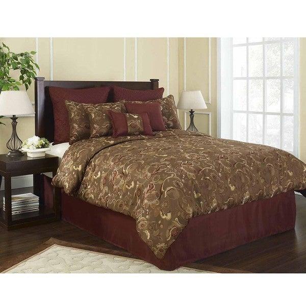 Grove Park Queen-size 9-piece Comforter Set