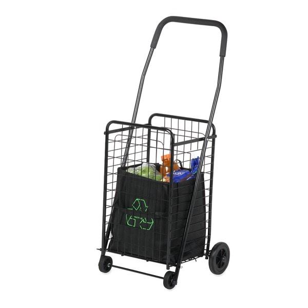 Honey Can Do CRT-01511 Black Rolling Utility Cart
