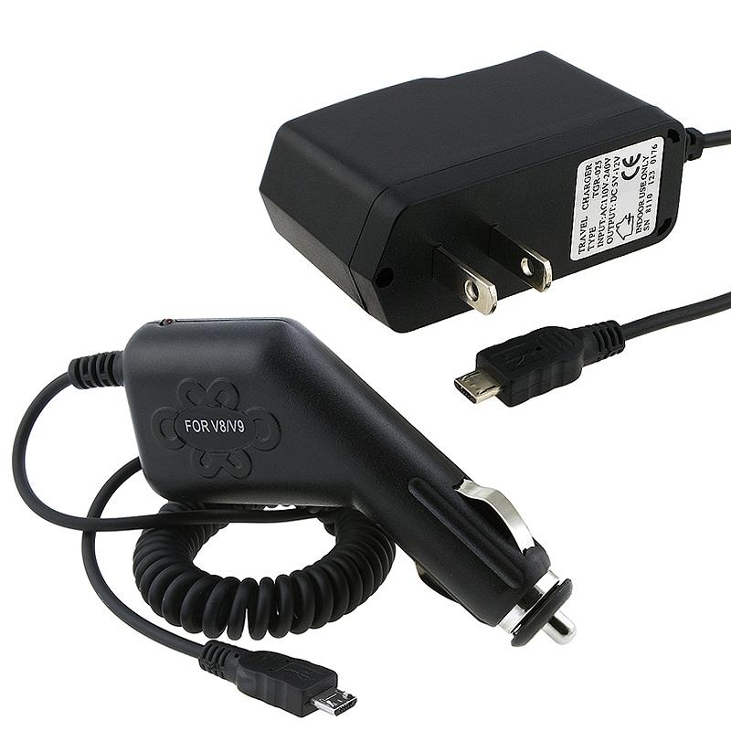 INSTEN Car and Travel Charger for BlackBerry/ LG/ Motorola