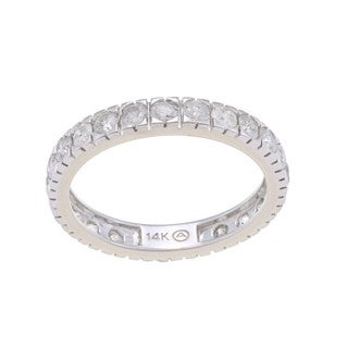 14k Gold 1 1/2ct TDW Diamond Wedding Band (H-I, I2-I3)