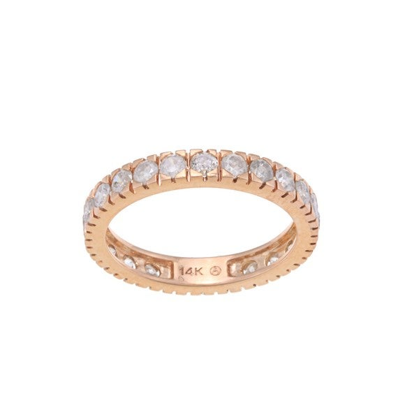 Beverly Hills Charm 14k Gold 1 1/2ct TDW Diamond Wedding Band (H-I, I2-I3)