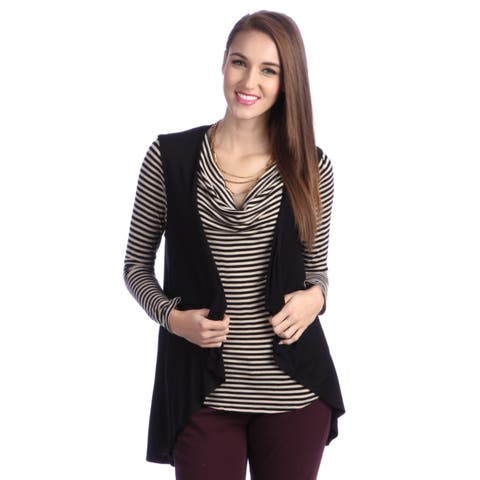 24/7 Comfort Apparel Women's Sleeveless Shrug