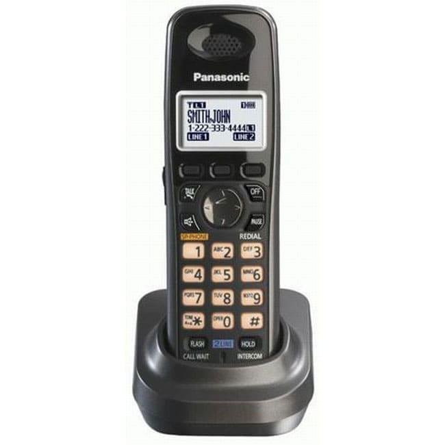 Panasonic KX-TGA939T DECT 6.0 Black Cordless Phone Handset