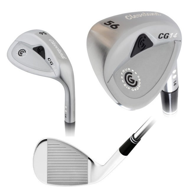 Cleveland CG14 Satin Chrome Confirming Groove Wedge