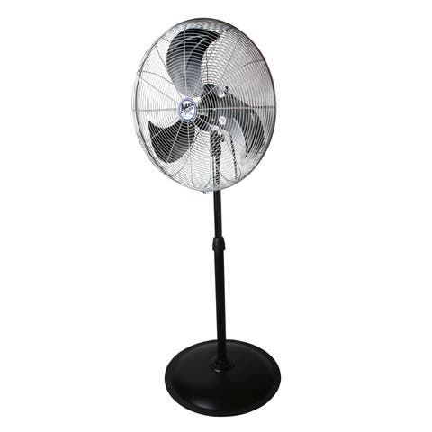 22-inch Heavy-duty 3-speed Pedestal Fan