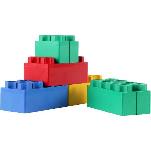 Building Blocks Jumbo Kids Adventure Beginner 24-Pc Set For Ages 18 Months Up