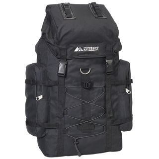 Everest 8045D 24-inch Polyester Hiking Backpack (Option: Black)