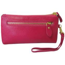 Amerileather Sparks Leather Clutch - Thumbnail 1