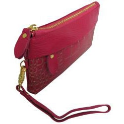 Amerileather Sparks Leather Clutch - Thumbnail 2