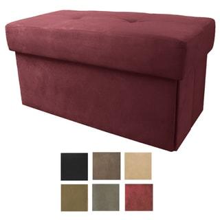Vanderbilt Foldable Large Storage Ottoman/ Table/ Bench