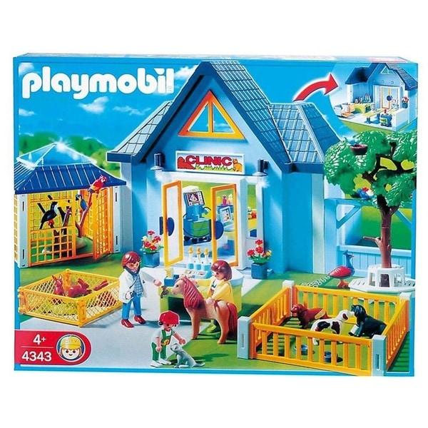 Playmobil Animal Clinic Play Set