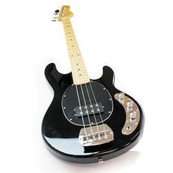 SVP Dr. Tech MEB-001 4-string Black Electric Bass Guitar
