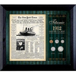 American Coin Treasures New York Times Titanic 1912 U.S. Mint Coin Collection