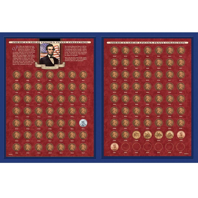 American Coin Treasures America's Great Lincoln Penny Collection 1909-2011