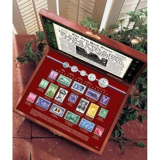 American Coin Treasures World War II Coin and Stamp Collection