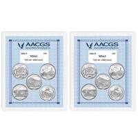 American Coin Treasures Brilliant Uncirculated Statehood Quarter (Set of 10)