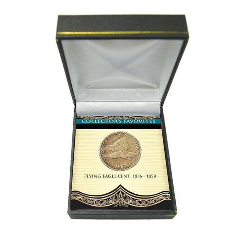 American Coin Treasures Collector's Favorites Flying Eagle Cent 1856-1858
