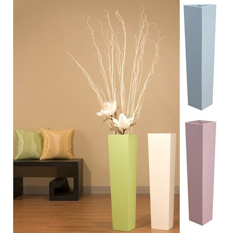 27-inch Tapered Floor Vase