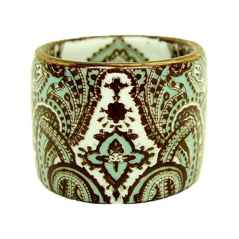 Rafaela Porcelain Napkin Rings (Set of 4) - 8' x 11'
