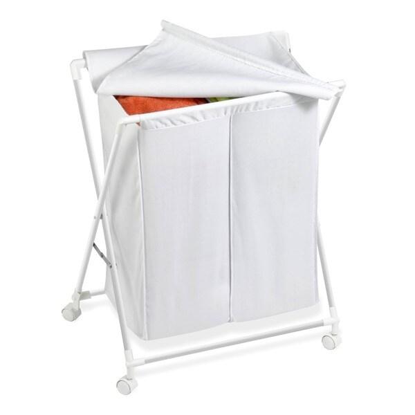 Shop Honey Can Do Hmp 01386 Double Folding Hamper Free