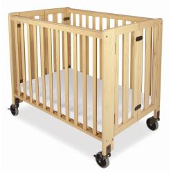 Foundations HideAway Folding Fixed-Side Full-Size Crib