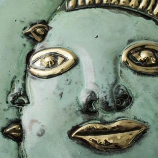 Handmade Copper Stellar Guidance Mask  (Handmade in Peru)