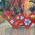 Handmade Wood 'Crimson Serpent' Display Jigsaw Puzzle (Mexico)