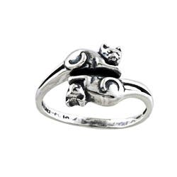 Silvermoon Sterling Silver Double Cat Adjustable Ring https://ak1.ostkcdn.com/images/products/6051923/Silvermoon-Sterling-Silver-Double-Cat-Adjustable-Ring-P13728856.jpg?impolicy=medium