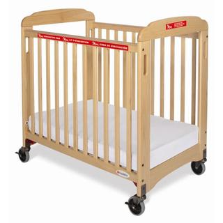 First Responder Natural Clearview Crib with Evacuation Frame