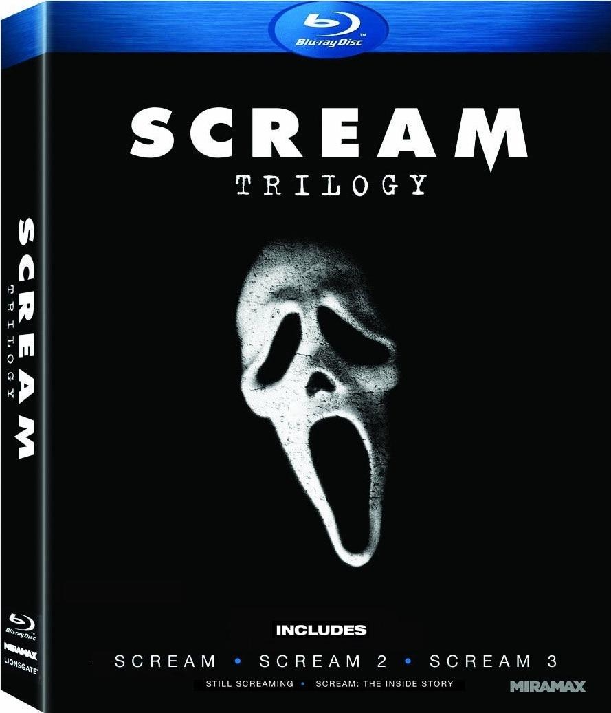 Scream 1-3 Gift Set (Blu-ray Disc)