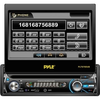 "Pyle PLTS78DUB Car DVD Player - 7"" LCD - Single DIN"