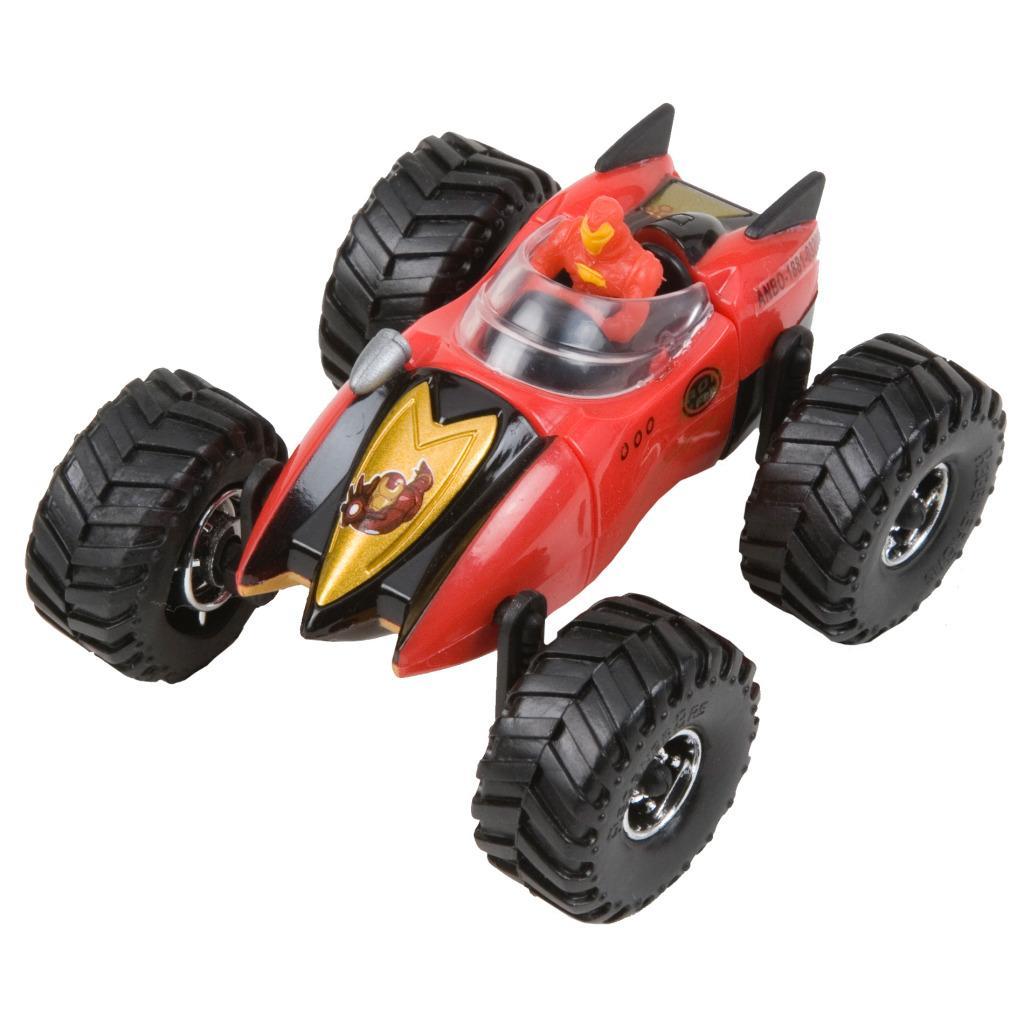 Marvel Regener8r 1:64 Scale Iron Man Racer Toy Car