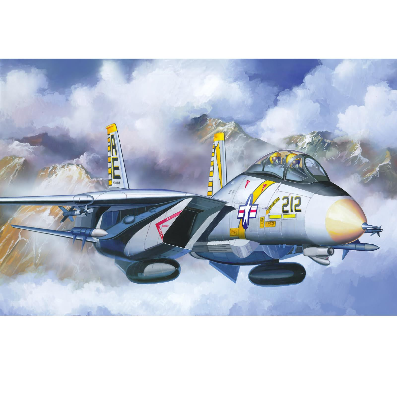 Revell 1:48 Scale F-14A Tomcat Model Aircraft