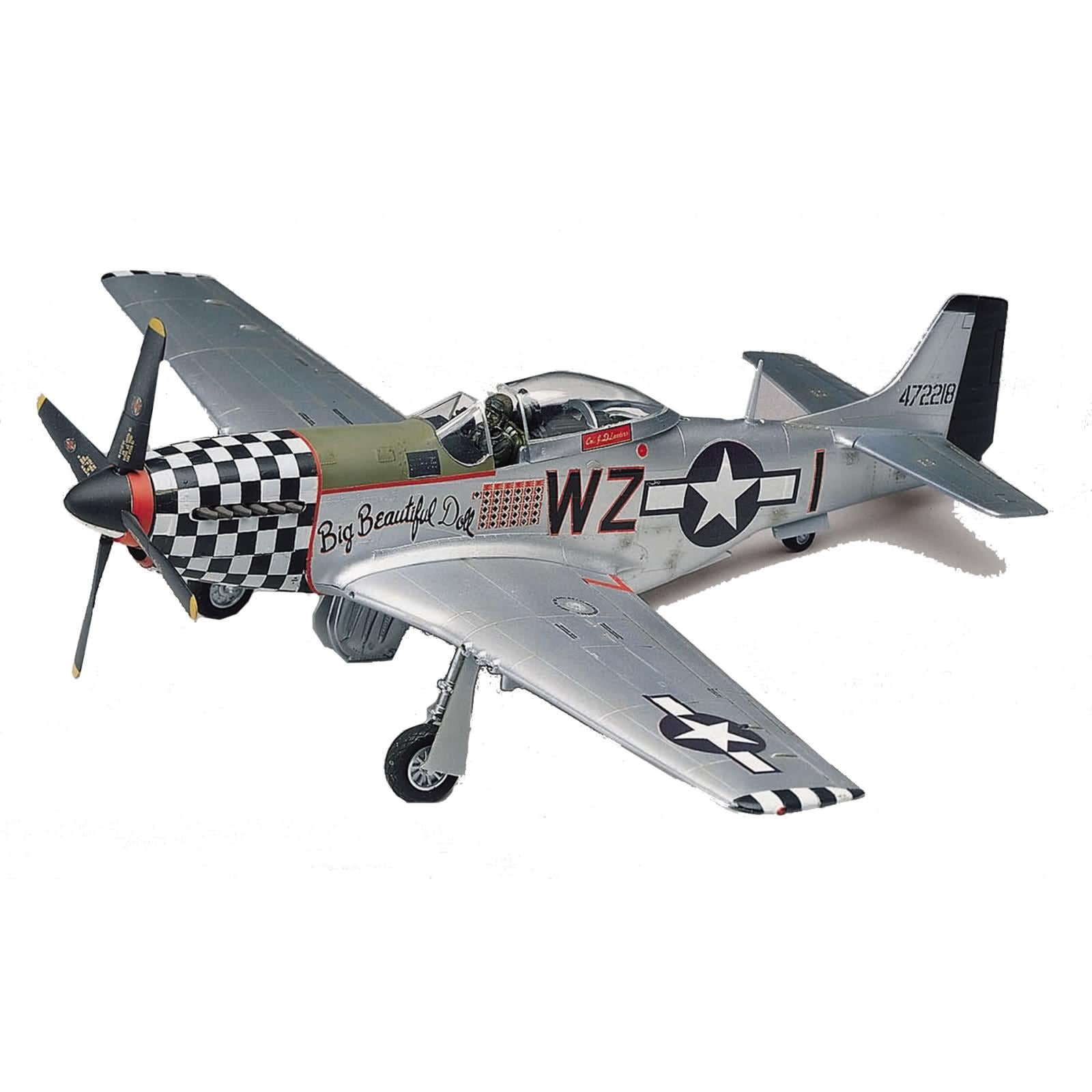 Revell 1:48 Scale P-51D Mustang Model - Thumbnail 0