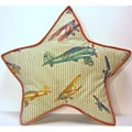 Star Airshow Decorative Pillow