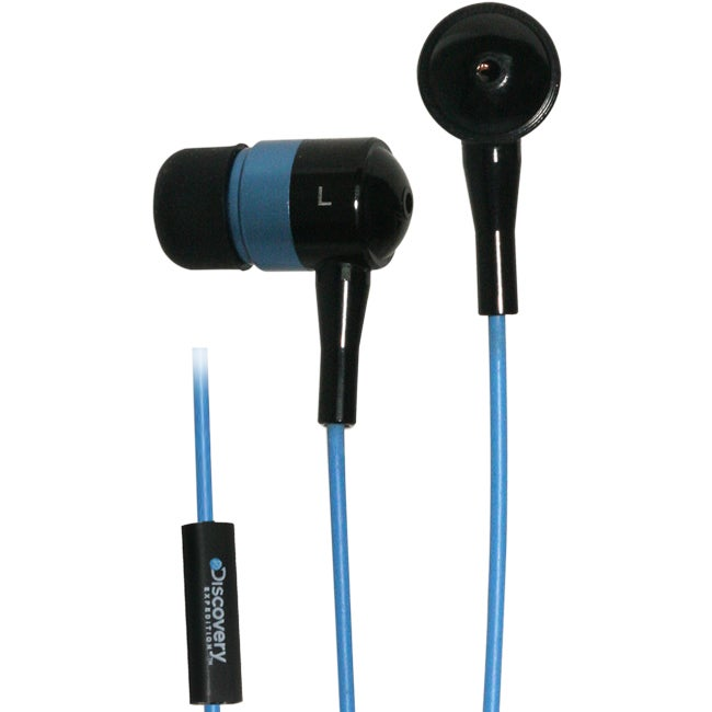 Discovery Metal Inline Mic Noise Reduction Earphones