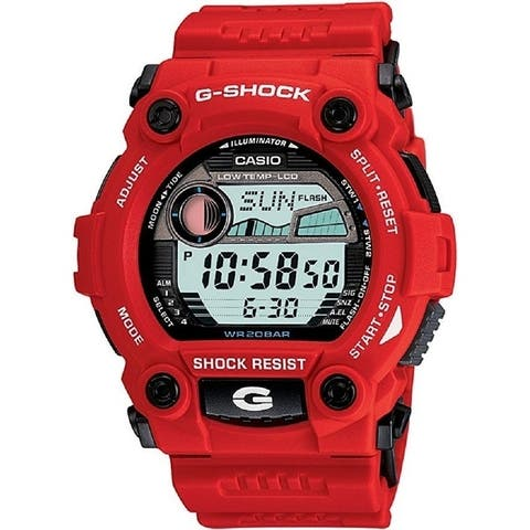Casio G7900A-4 G-Shock Rescue Digital Men's Watch (Red)