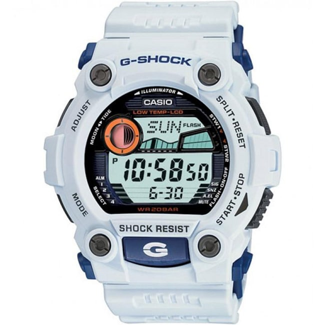 456d87edc21c Shop Casio Men s G-Shock  Rescue  White Digital Sport Watch - Free Shipping  Today - Overstock - 6053227