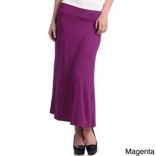24/7 Comfort Apparel Women's Maxi Skirt