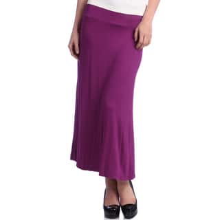 24/7 Comfort Apparel Women's Maxi Skirt|https://ak1.ostkcdn.com/images/products/6053285/P13729854.jpg?impolicy=medium