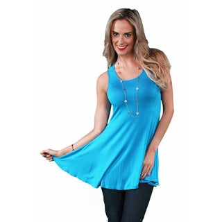 24/7 Comfort Apparel Women's Sleeveless Tunic Tank (More options available)
