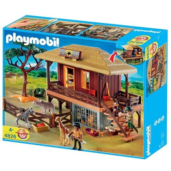 Playmobil Wildlife Care Station Play Set