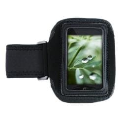 INSTEN Deluxe Black ArmBand for Apple iPod touch 2nd/ 3rd Generation - Thumbnail 1