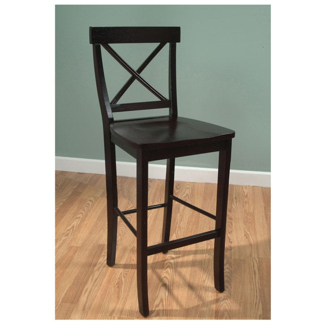 Simple Living Easton 24 Inch Crossback Stool Free