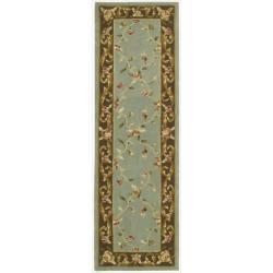 Nourison Hand-tufted Metropolitan Green Rug (2'3 x 7'6)