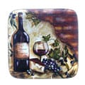 Certified International Wine Cellar 14.5-Inch Square Platter