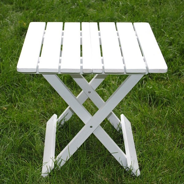 White Folding Adirondack Side Table - Free Shipping On Orders Over $45 ...