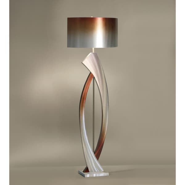 Shop Swerve Floor Lamp Free Shipping Today Overstock