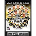 NHL 2011 Boston Bruins Stanley Cup Champions Ready-to-hang Plaque