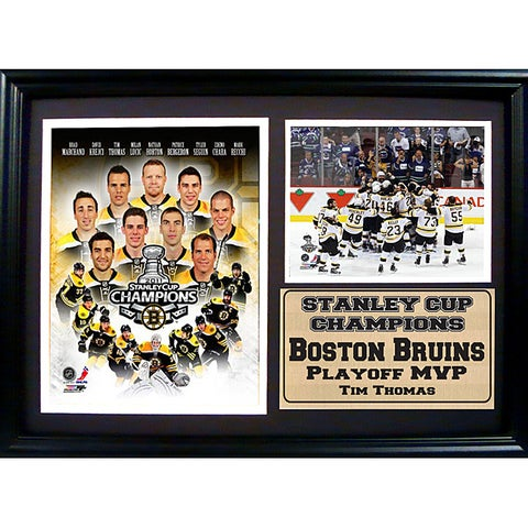 2011 Boston Bruins Stanley Cup Championship Frame